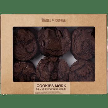 Cookies Mørk Bagt 24 Stykker