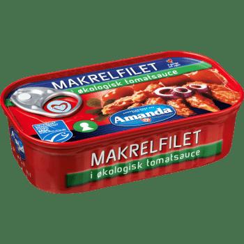 Makrelfilet I Tomatsauce øko