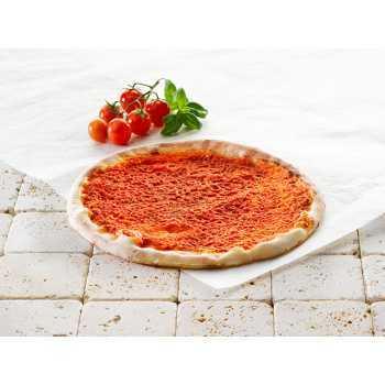 Pizzabunde M/tomatsauce 30cm