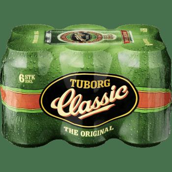 Tuborg Classic Øl 4,6% Dåser