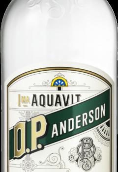 Snaps Aquavit O.P.Anderson Klar øko 40%