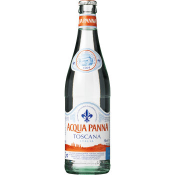 Mineralvand Aqua Panna 50cl. Glas