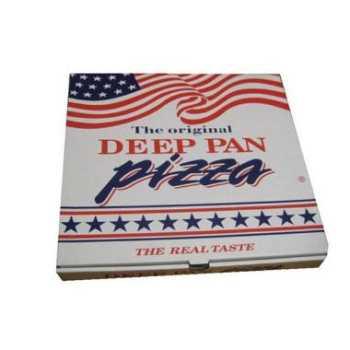 Pizzakarton Deep Pan 26x26x4,5cm