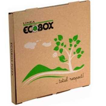 Pizzakarton Ecobox 26×26 FLUORFRI