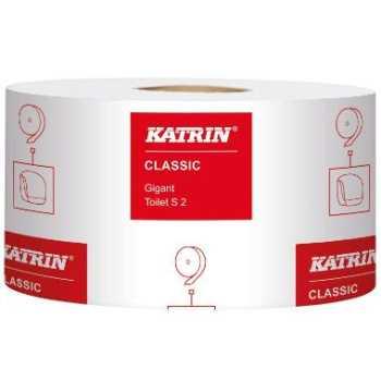 Toiletpapir Katrin C Jumbo 2-lags 200m.