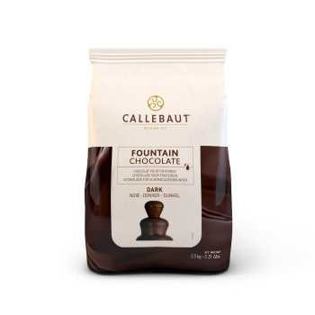 Chokolade T/fontæne 2,5kg Callabaut Mørk