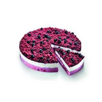 Blueberry Red Velvet Kage 12 Stykker