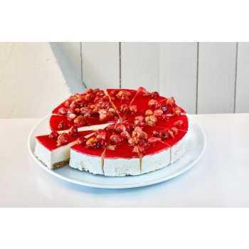 Cheesecake Jordbær 12 Skiver
