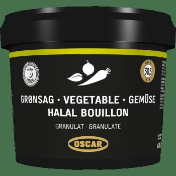Grønsagsbouillon Halal Oscar Granulat
