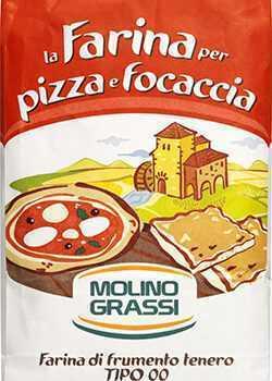 Mel Molino Grassi Pizza Italiensk