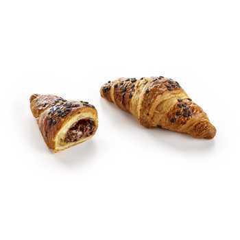 Croissant Chokolade Smørbagt 60x100g