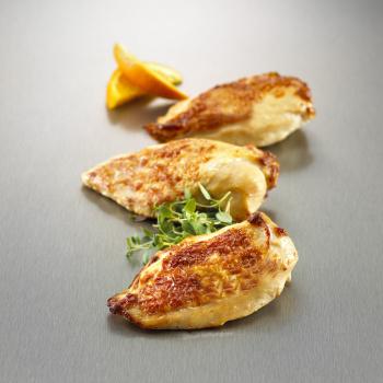 Kyllingefilet Stegt M. Skind 110-140g