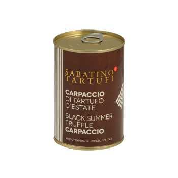Trøffel Carpaccio Sort Sabatino