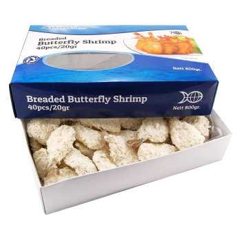 Rejer Butterfly Panerede 800g