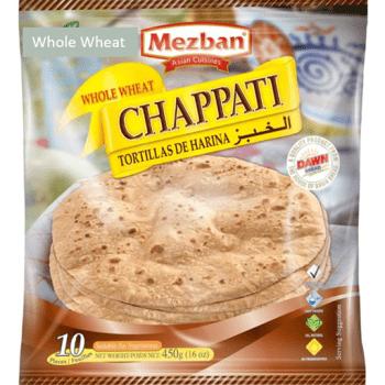 Chappati Hvede 10stk