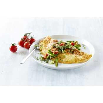 Omeletter M/champ/ost