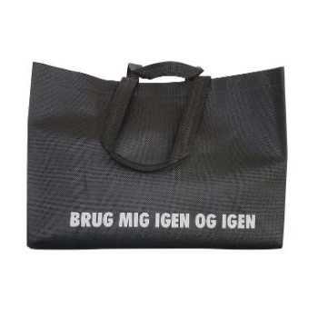 Pose Shoppingbag Genbrug Sort 17 Ltr
