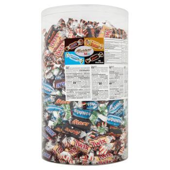 Chokolade Miniature Mix Ca. 296stk