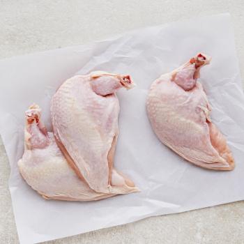 Kyllingebryst M/ben M/skind Ca.200g /stk