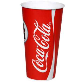 Papbæger Coca-Cola 50 Cl Ø90x170mm