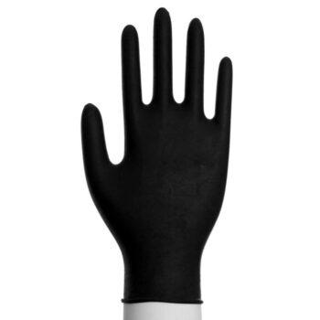 Handske Engangs Nitril Str. S Sort