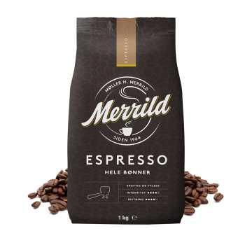 Kaffe Bønner Espresso Merrild