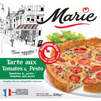 Tærte M/tomat & Pesto Marie