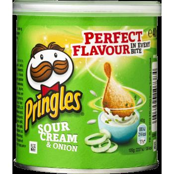 Chips Pringles Sour Cream & Onion