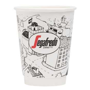 Kaffebæger Takeaway 12oz Segafredo