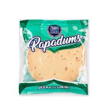 Pappadums Cumin Heera