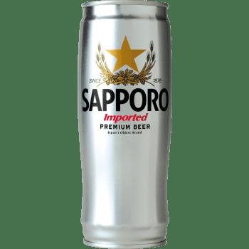 Sapporo Silver Øl 5% Dåse