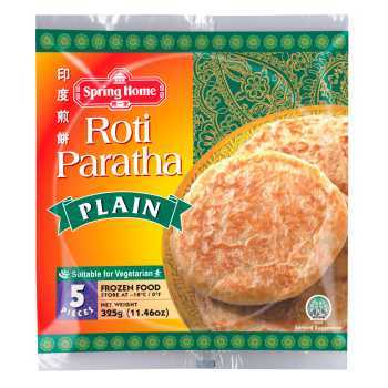 Roti Paratha Plain Brød 5 Stk
