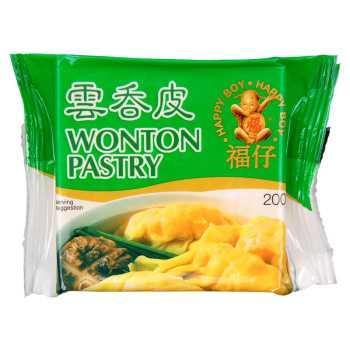 Wonton Pastry 83×83 Yellow