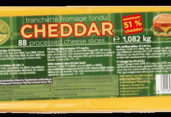 Cheddar Ost I Skiver StackPack 88×12,3g