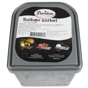 Is Sorbet Solbær