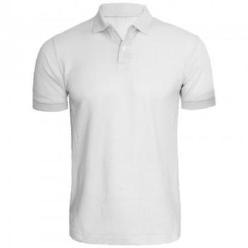 T-shirt Polo Medium Hvid