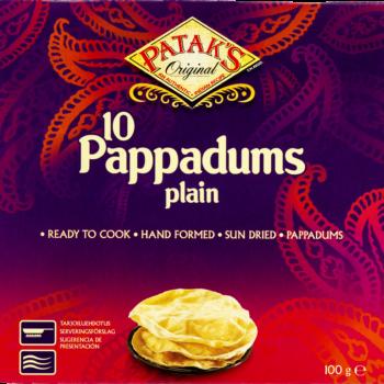 Pappadums Plain Heera