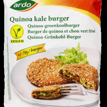 Burger Grøntsag M/quinoa Ca 75g