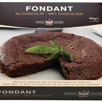Chokolade Fondant Kage