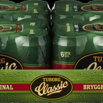 Tuborg Classic 4,6% Dåser