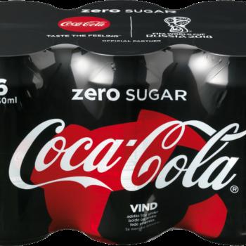 Coca Cola Zero Dåse 33cl