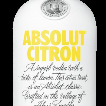 Vodka Absolut Citron 40%