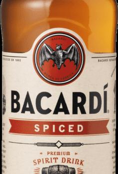 Rom Bacardi Spiced 35%