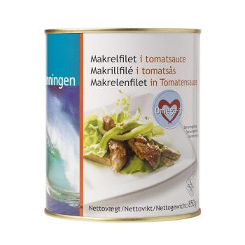 Makrelfilet I Tomatsauce