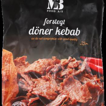 Döner Kebab Okse Forstegt 50/50