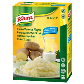 Kartoffelmos Flager