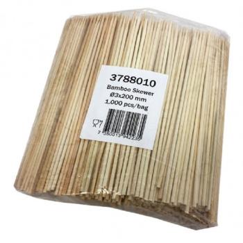 Grillspyd Bambus 20 Cm
