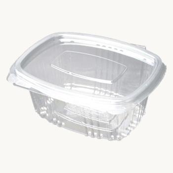 Salatbakke M/hængslet Låg 375ml