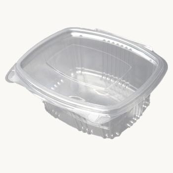 Salatbakke M/hængslet Låg 500ml